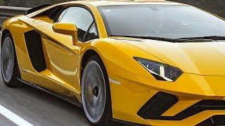 Lamborghini Aventador S Engine Start Acceleration 0 - 100 MPH Driving Engine Sound CARJAM TV HD
