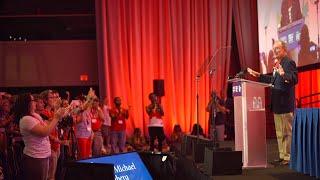 Mike Bloomberg at Moms Demand Action's 2019 Gun Sense University
