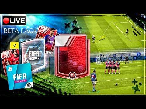 PACKS + 1vs1 + SKILL SPIELE ?? FIFA 19 MOBILE BETA LIVESTREAM thumbnail