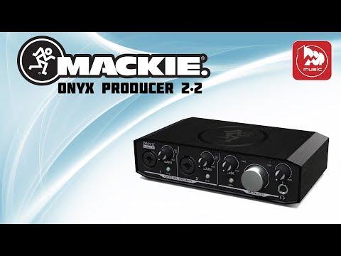 Двухканальная звуковая карта MACKIE Onyx Producer 2•2