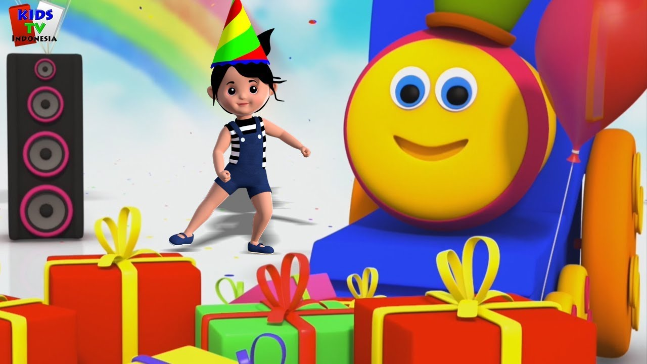 selamat ulang tahun untuk bob | Happy Birthday To Bob | Kids Tv Indonesia | Lagu Anak | In English