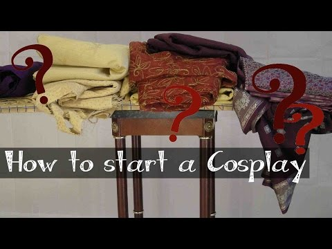 How to Start a Cosplay Costume