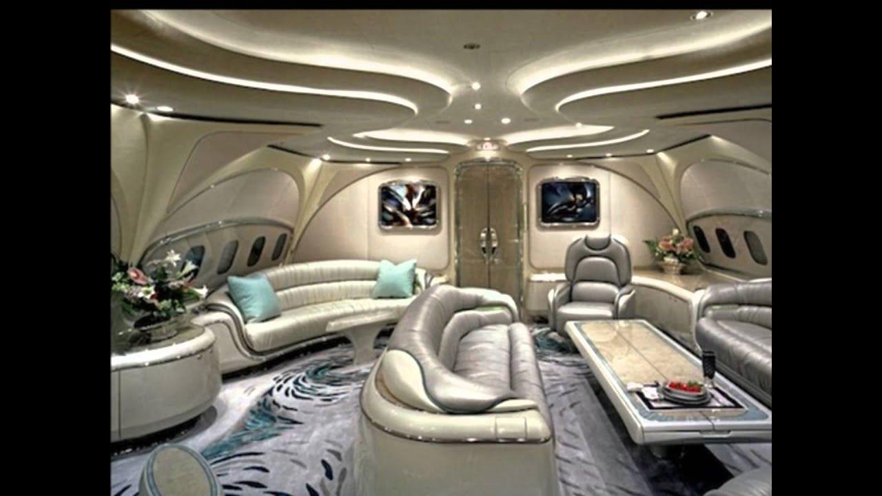 Aviones De Los Magnates Extremadamente Lujosos