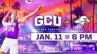 GCU Men's Volleyball vs. Benedictine Jan 11, 2019
