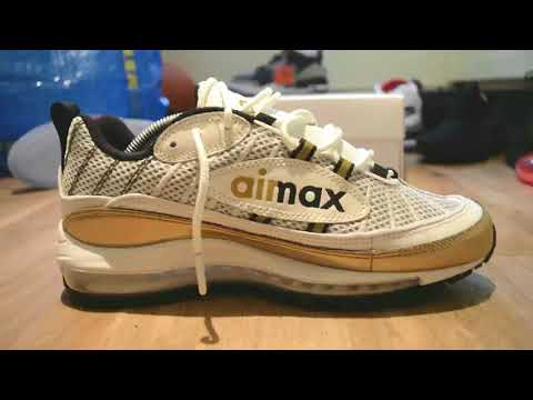 b76accdbe8 Air Max 98 UK or GMT from the Meridian pack - YouTube