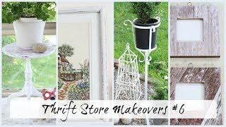 Thrift Store Makeovers and How I've Used Them #6  |  Farmhouse Cottage Style