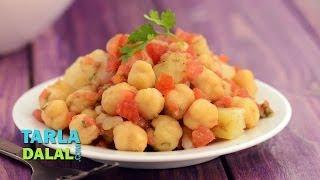 Potato And Chana Salad By Tarla Dalal