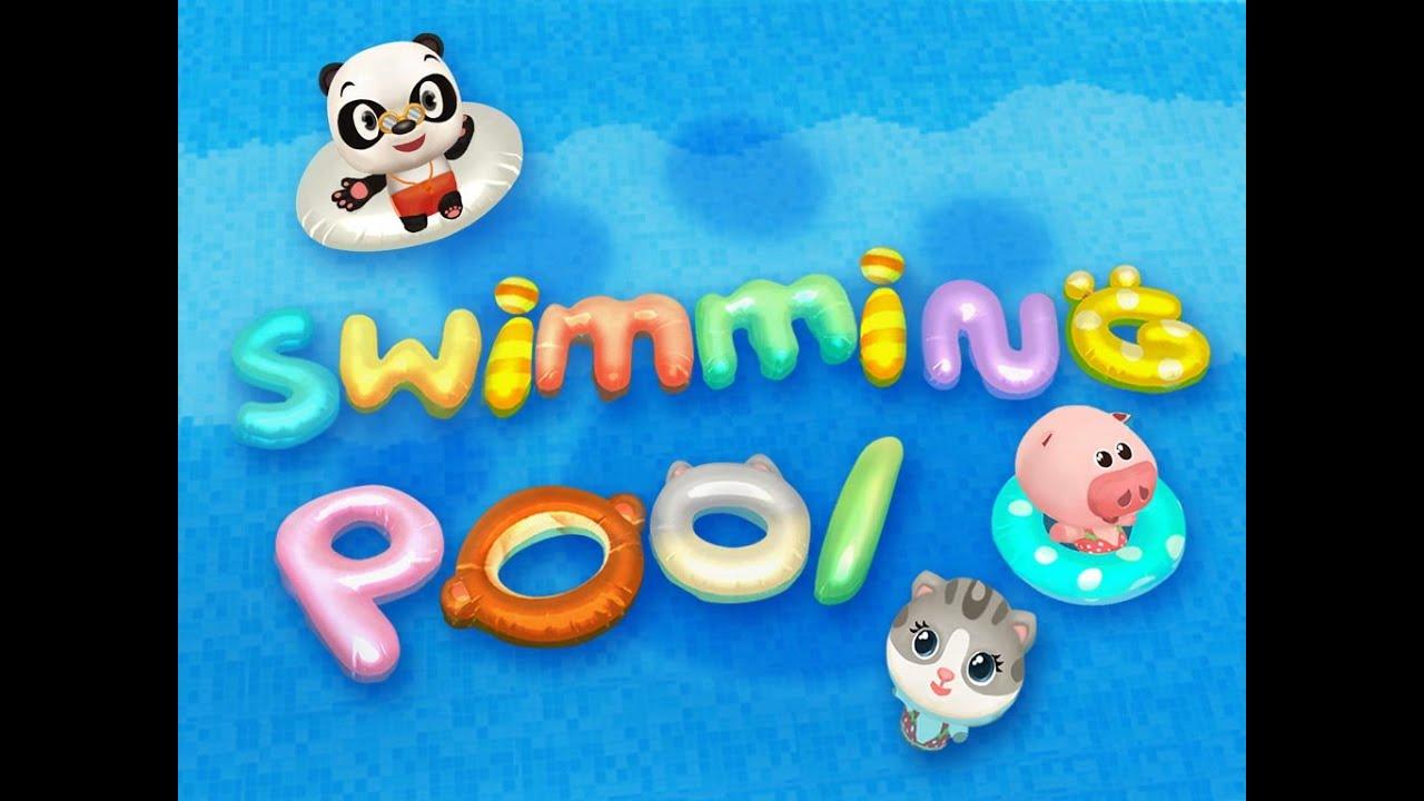 скачать бассейн dr.panda