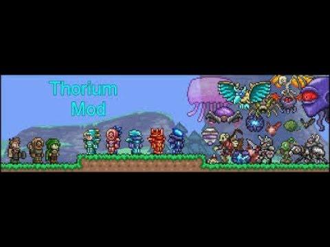 Terraria Thorium Mod Live Stream!!!