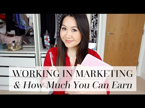 Getting A Job In Marketing + What Kind Of Salary You Can Expect