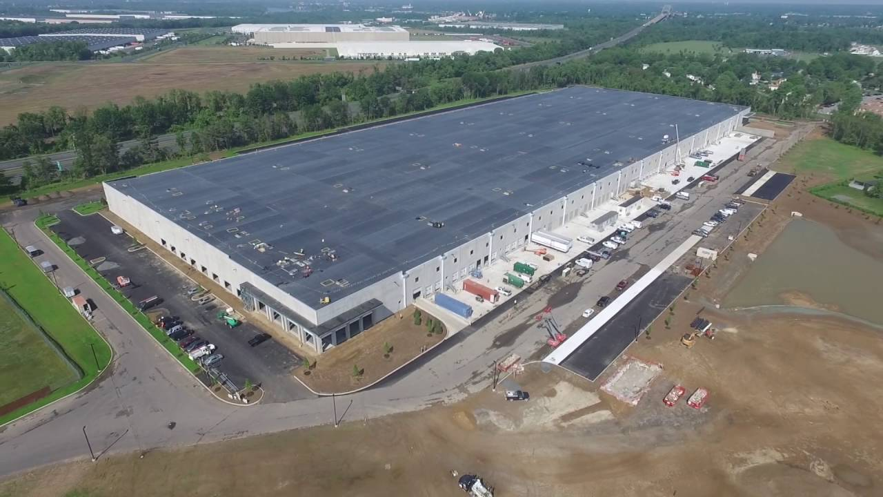 New Amazon Building In Nj