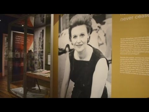 Edinburgh pays tribute to Muriel Spark, one of Britain's greatest writers