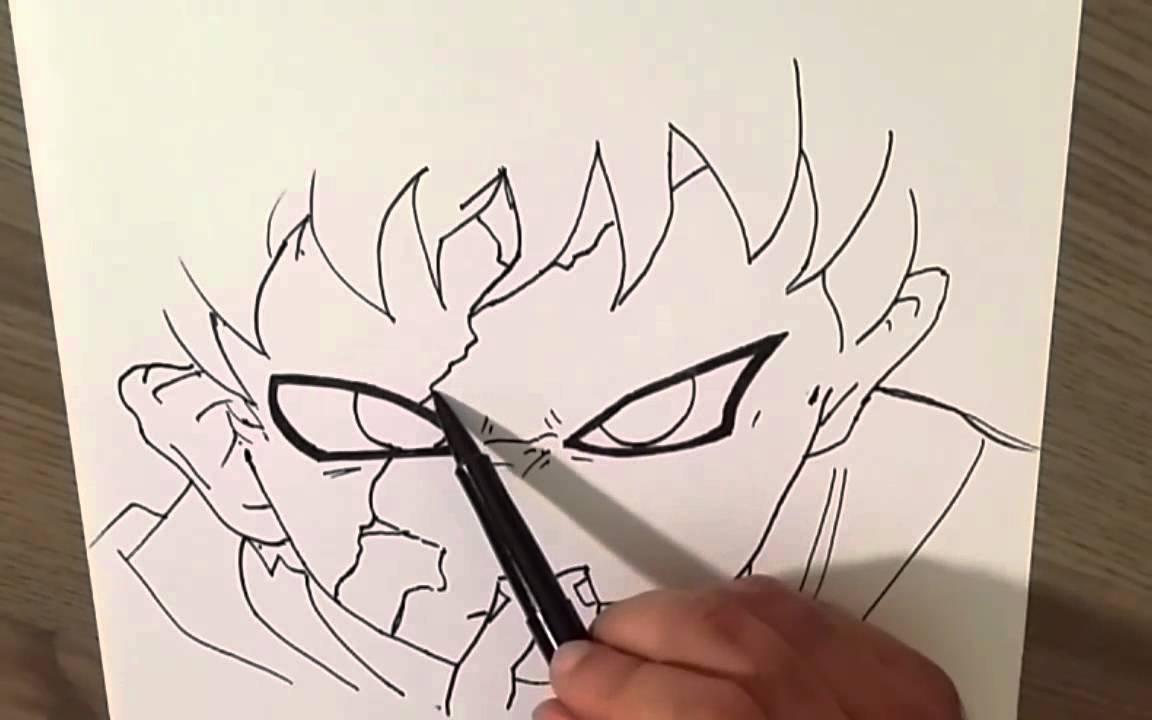 Comment dessiner gaara naruto youtube - Dessiner naruto ...