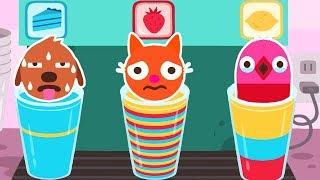 Sago Mini Sago Mini Pet Cafe - Play Fun Colors, Numbers & Shapes Match Educational Games For Kids