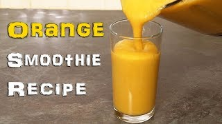 Can you Guess whats in this Orange smoothie?