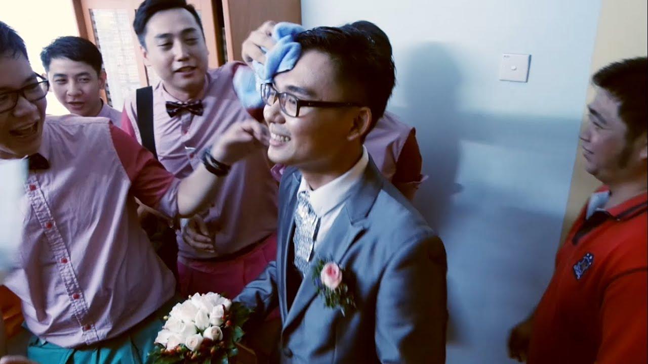 wei leong amp yun sun wedding shin chan version youtube