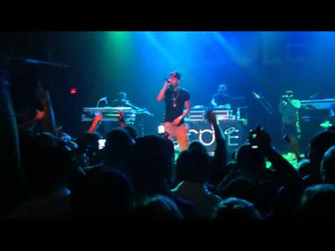 J. Cole LIVE -- Farewell (acapella) (HQ)