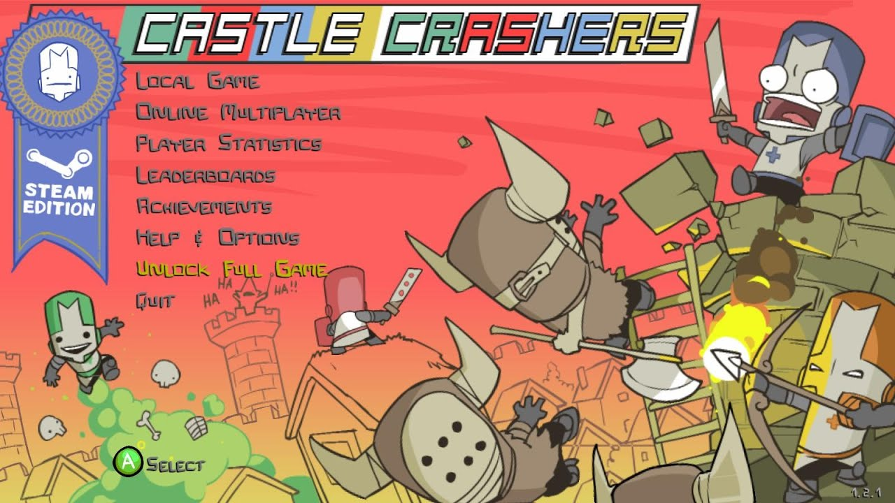 como jugar castle crasher online