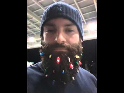 Best Beard lights for Christmas - YouTube