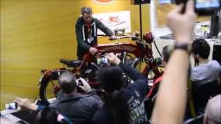 Flying Millyard, 5000 cc (5l) V twin classic bike - MCN London Motorcycle Show 2015 - Motocyklowa TV