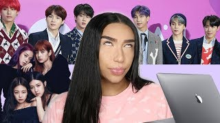 Reacting to K-POP for the first time (EXO, BTS, Blackpink, & more!)   Daniel Almonte
