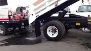 1996 Ford F800 Heil 5 Yard Dump Truck for sale