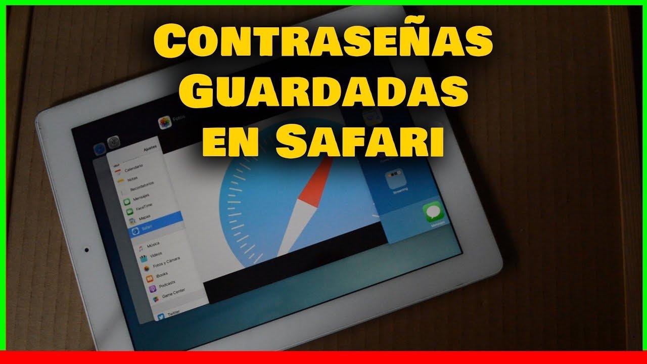 👉 Donde se guardan las contraseñas en Safari del iPhone | iPad Facil