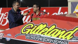 2015-09-18 Interview with IMCA Mod Winner Eric Martini at Princeton Speedway