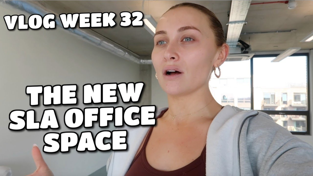 VLOG | THE NEW SLA OFFICE SPACE & MORE LIFE STUFF