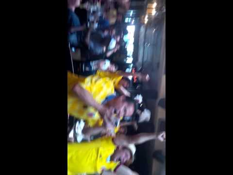 Colombia vs Uruguay at tavern on the square Cambridge ma