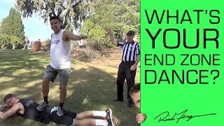 College Kids Show us their End Zone Dance!