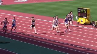 2018東海学生陸上男子100m予選