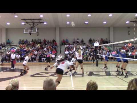 VIDEO: Volleyball - Aubrey Hawkins kill vs Brevard (Sep. 16, 2016)