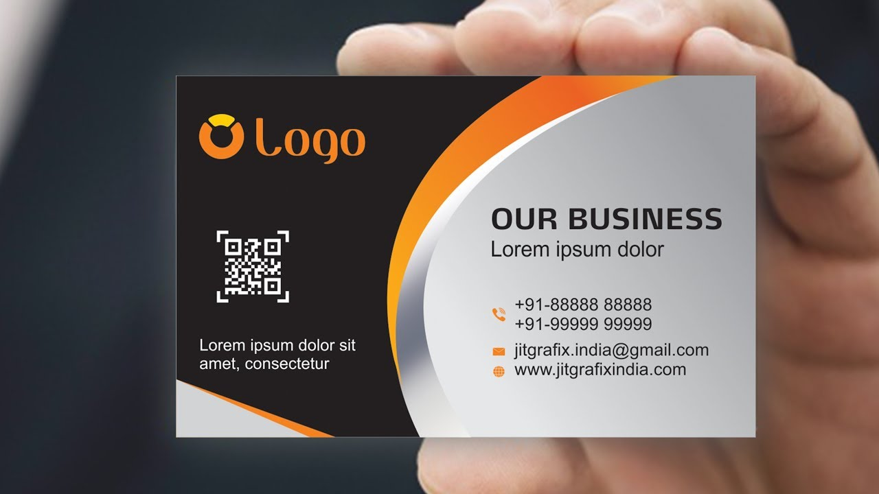 Tubget download video business card design in coreldraw x7 business card design in coreldraw x7 tutorial 7 with jit grafix creative visiting reheart Gallery