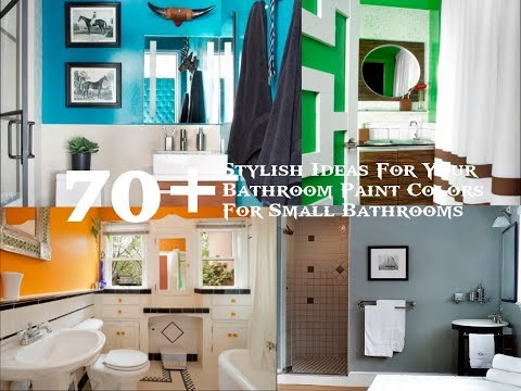 70+ Stylish Ideas For Your Bathroom Paint Colors For Small Bathrooms