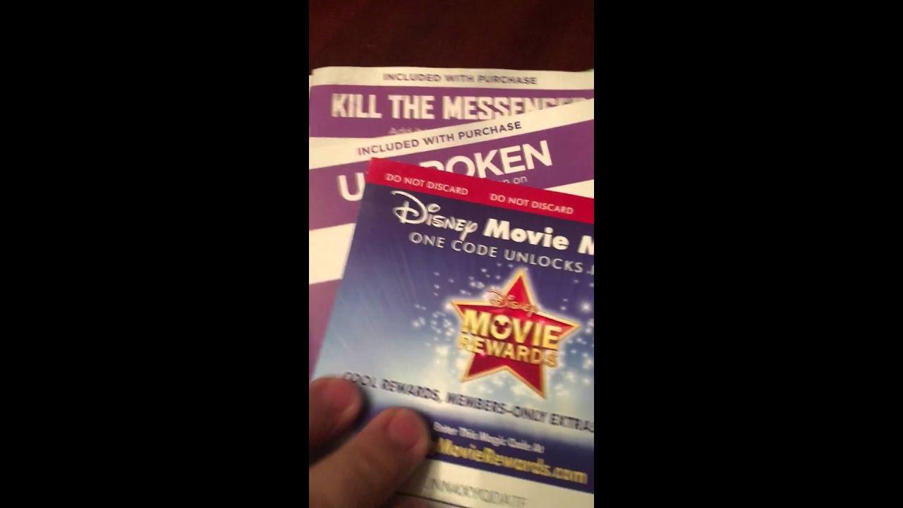 disney movie rewards codes 2019
