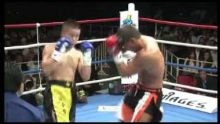 K-1 World MAX 2011 -70kg JAPAN GP QF#1 Albert Kraus(クラウス) vs Yuji Nashiro(城裕司) Part 2