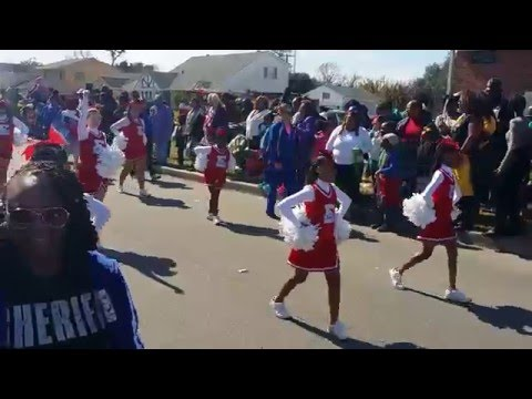 Eisenhower Academy Marching Eagles Band NOMTOC 2016