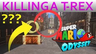 T-Rex Escape Without the T-Rex, Mario Odyssey Glitch!