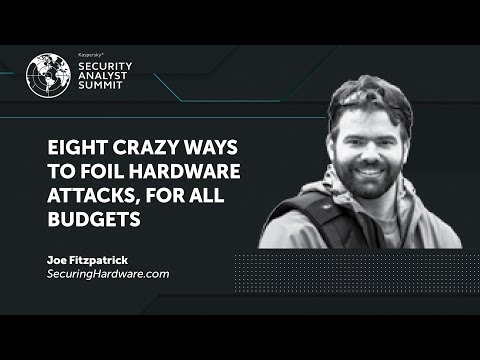 EIGHT CRAZY WAYS TO FOIL HARDWARE ATTACKS, FOR ALL BUDGETS