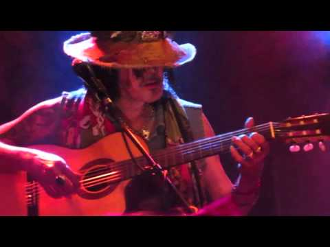 Andy McCoy plays flamenco - Helsinki Finland - 25.7.2015