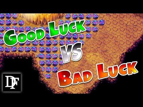 Good Luck VS Bad Luck! Skull Cavern - Stardew Valley