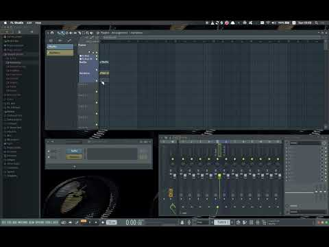 FL Studio Instrument Groups With Track Assignments