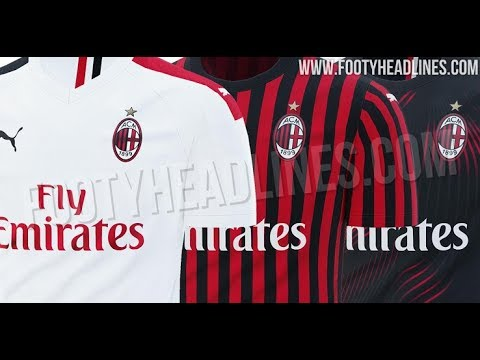 sports shoes 9551e 81078 AC Milan 19-20 Home, Away & Third Kits Leaked