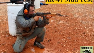 AK47 Rifle Mud Test : Ultimate Survival Gun