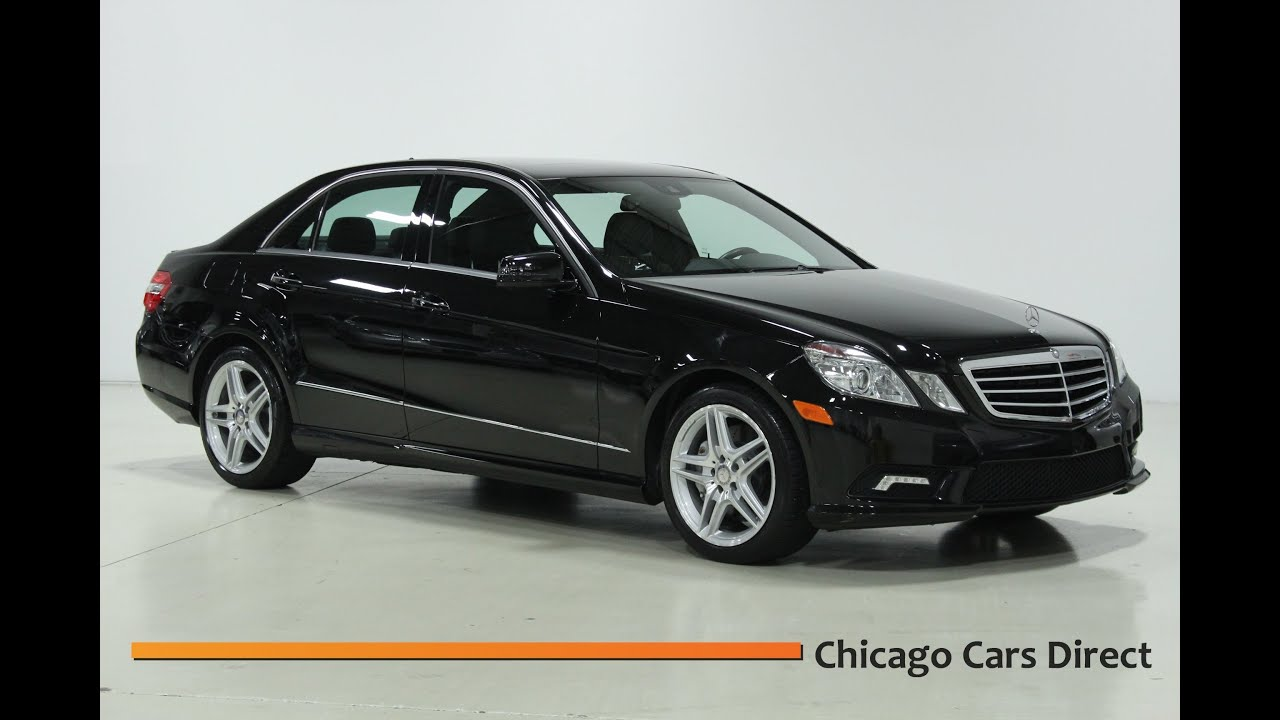 Chicago Cars Direct Presents A 2011 Mercedes Benz E550