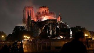 السيطرة على حريق كاتدرائية نوتردام وماكرون يؤكد: تفادينا الأسوأ…