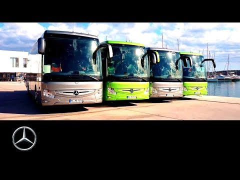 Mercedes-Benz Tourismo: Driving experience