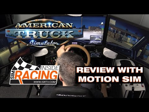 American Truck Simulator Review in Motion Simulator