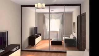 видео Картин, интерьер и радиусный шкаф